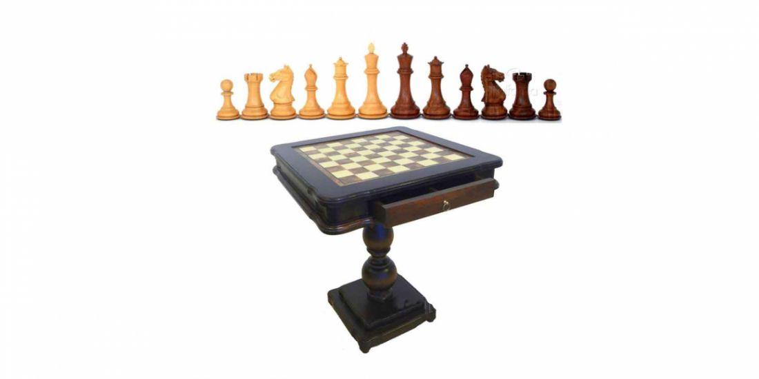 ჭადრაკი ხის ფიგურებით, (იტალია)