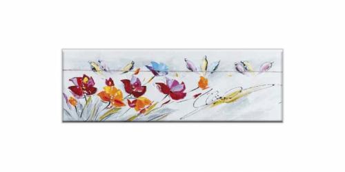 ნახატი FLOWERS NIGHTINGALES