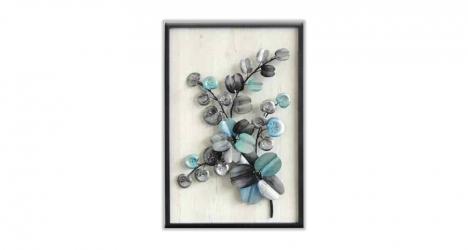 კედლის დეკორაცია Blue Flower