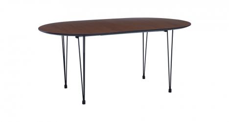 მაგიდა ხის, გასაშლელი, ოვალური, OMEO