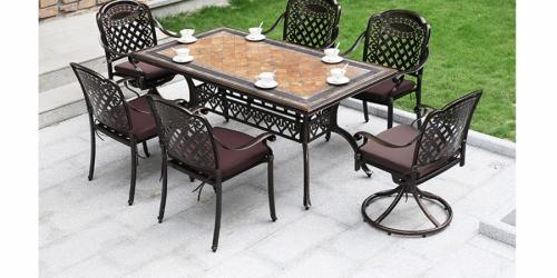 მაგიდა ჭედური, მართკუთხედი