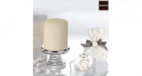 სასანთლე სანთლით LISCIO