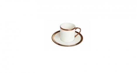 ფაიფურის ყავის სერვიზი COPPER LINE
