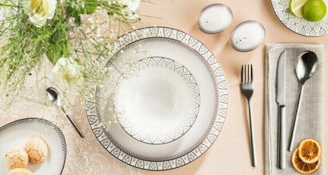 ფაიფურის სადილის სერვიზი SWEET ROMANTIC